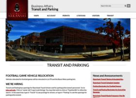 parking.uark.edu