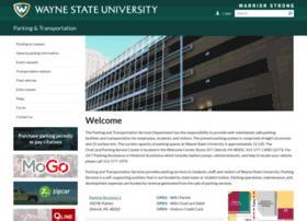 parking.wayne.edu