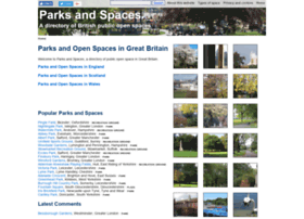 parksandspaces.co.uk