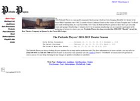 parksideplayers.com