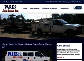 parkssewerservice.com