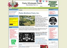 parkswholesaleplants.com