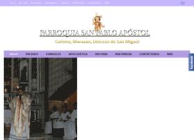 parroquiasanpablocorinto.com