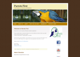 parrotsfirst.org