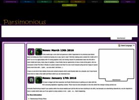 parsimonious.org