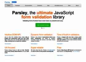 parsleyjs.org