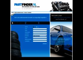 partfinder.nl
