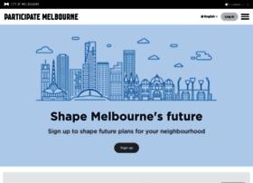 participate.melbourne.vic.gov.au