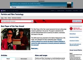 particleandfibretoxicology.biomedcentral.com