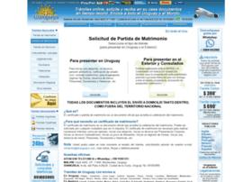 partidasdematrimonio.eluruguayo.com