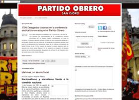partidoobrerosanisidro.blogspot.com