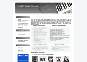 partitions-piano.fr