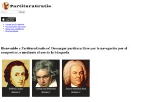 partituragratis.es