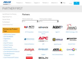 partnerfirst.pelco.com