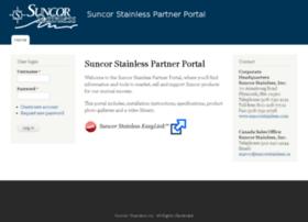 partnerportal.suncorstainless.com