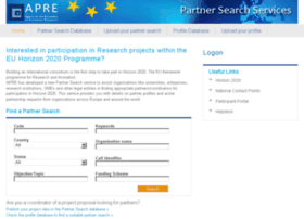 partnersearch.apre.it
