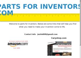 partsforinventors.com