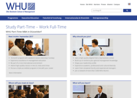 parttime-mba.whu.edu