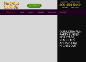 partybuscanada.com