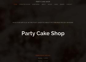 partycakeshop.com