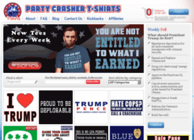 partycrashertshirts.com