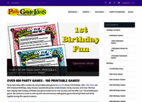 partygameideas.com
