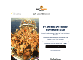 partyhardtravel.studentbeans.com