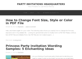 partyinvitationshq.com