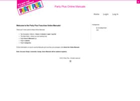 partyplusfranchise.com