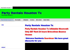 partyrentalshoustontx.com