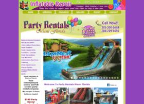partyrentalsmiamiflorida.com