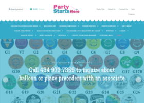 partystartsherecharlottesville.com