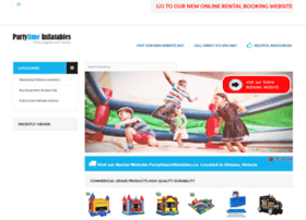partytime-inflatables.com