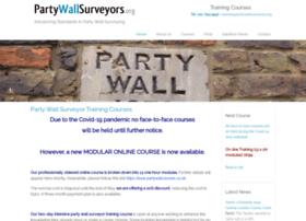 partywallsurveyors.org