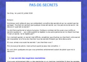 pas-de-secrets.com