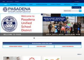 pasadenausd.org