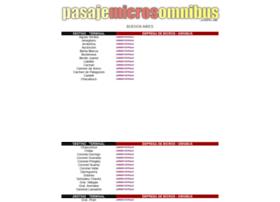 pasajemicrosomnibus.com.ar