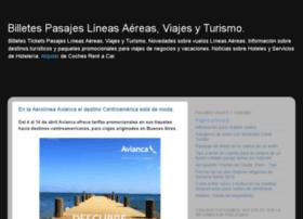 pasajeslineasaereas.blogspot.com
