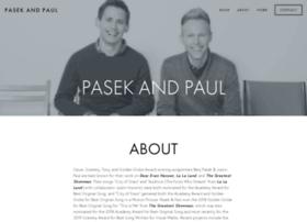 Pasekandpaul.com