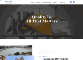 pashminadevelopers.com
