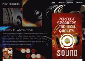 paspeakersindia.com