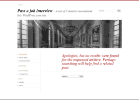 passajobinterviewreview.wordpress.com