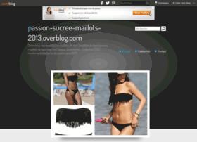 passion-sucree-maillots-2013.overblog.com
