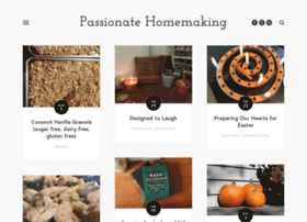passionatehomemaking.com
