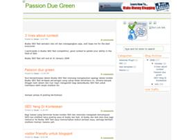 passionduegreen.blogspot.com