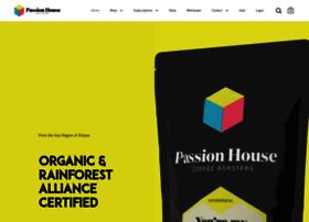 passionhousecoffee.com