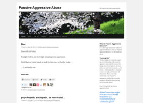 passiveaggressiveabuse.wordpress.com