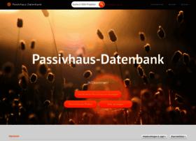 passivhausprojekte.de