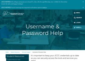 password.jccc.edu