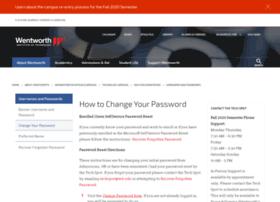 password.wit.edu